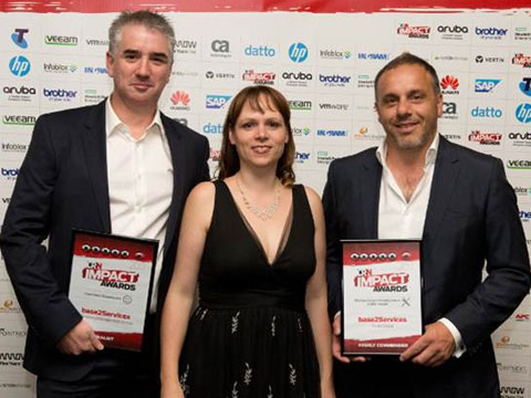 base2Services awarded Highly Commended at the CRN Impact Awards 2017